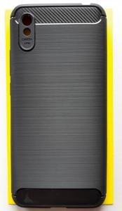 """TPU maska BRUSHED za Xiaomi Redmi 9A 2020 (6.53"""") crna"""