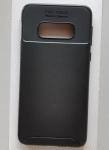 """TPU maska CARBON za Samsung SM-G970F, S10e 2019 (5.8""""), crna"""