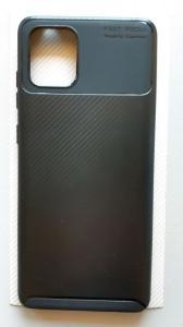 "TPU maska CARBON za Samsung SM-N770F, Galaxy Note 10 Lite 2020, A81 (6.7"") crna"