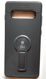 """TPU maska iFACE za Samsung SM-G975F, Galaxy S10 Plus 2019 (6.4""""), crna"""