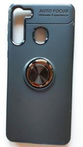 "TPU maska MAGNET RING za Samsung SM-A215F, Galaxy A21 2020 (6.5"") crna"
