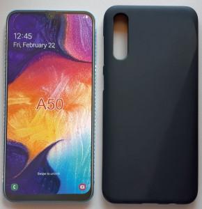"""TPU maska Pudding za Samsung SM-A505F, Galaxy A50 2019 (6.4"""") crna"""