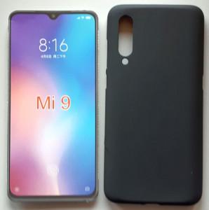"TPU maska PUDDING za Xiaomi Mi 9 2019 (6.39"") crna"