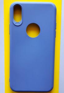 "TPU maska SKIN COLOR za IPHONE X, iPhone XS (5.8"") PASTELNO LJUBIČASTA"