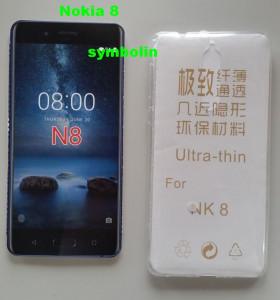 TPU maska za Nokia 2   providna ultra tanka