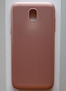 TPU/PC BREATH maska za SM-J530F Galaxy J5 2017, pink