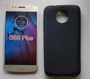 "TPU Pudding maska za Motorola G5S Plus XT1803 2017 (5.5"") crna"