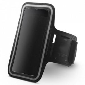 """Univerzalna futrola oko ruke, za telefone dijagonale ekrana 6 - 6.5"""" (Crna)"""