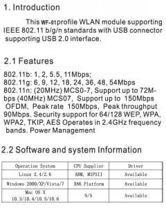 USB bežična mrežna wifi kartica Gembird WNP-UA150P-01, High power USB wireless adapter 150N