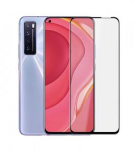 """Zaštitno kaljeno staklo 5D Full Glue za Huawei P40 lite 5G (6.5"""") CRNI RUB"""