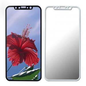 "Zaštitno Kaljeno staklo ZAKRIVLJENO 5D glass za iPhone X (5.8 "") 2018, beli rubovi"