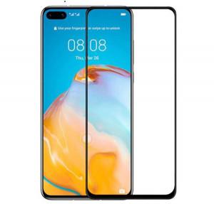 """Zaštitno staklo 5D Full Glue za Huawei P40 Pro 2020, P40 PLUS (6.58"""") crni rub"""