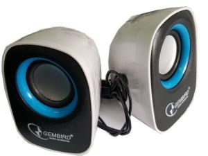 Zvucnici 2.0 sistem Gembird SPK-11, USB napajanje, snage 2x3W crni