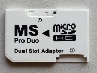 Adapter micro SD na Memory Stick Pro Duo - DUAL