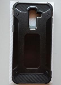 TPU maska DEFENDER za Galaxy SM-J810F, Galaxy J8 2018, crna