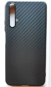 """TPU maska 0.3mm CARBON za Huawei Huawei Nova 5T, Honor 20 2019 (6.26""""), crna"""