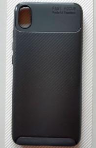 "TPU maska CARBON za Xiaomi Redmi 7A (5.45""), crna"