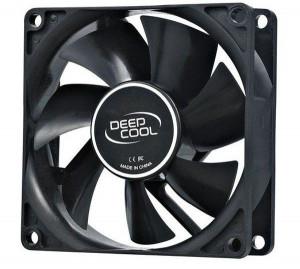 Hladnjak kućišta 80X80X25 DeepCool XFAN80 ventilator hydro bearing 1800rpm 21CFM 20dBa