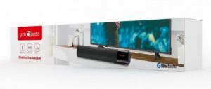 Bluetooth speaker soundbar Gembird SPK-BT-BAR400-01, 2x5W USB, SD, AUX, mikrofon, black