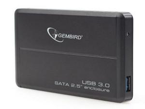 """Externo kuciste USB 3.0 za 2.5"""" SATA hard diskove crni Gembird EE2-U3S-2"""