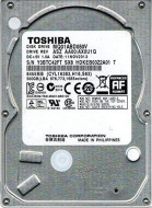 "HDD interni 2.5"" 500GB TOSHIBA MQ01ABD050V 5400RPM 16MB 9.5mm SATA"