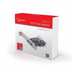 Kartica za 2 USB porta 3.0, USB 3.0 PCI-Express host adapter, Gembird UPC-30-2P