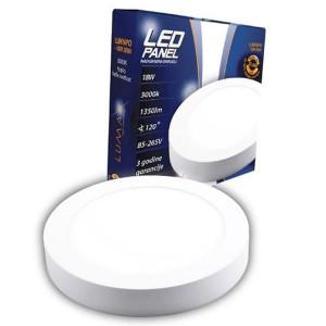 LED panel nadgradni OKRUGLI 18W LUMNPO-18W, 3000K ili 6500K