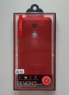 Maska TPU Breath ZA REDMI NOTE 4X red