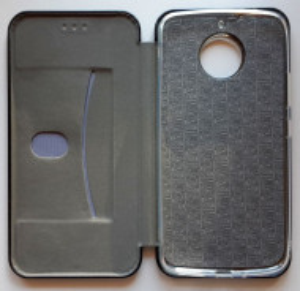 "Preklopna futrola LEATHER za Motorola Moto G5S XT1793 2017 (5.2"") crna"