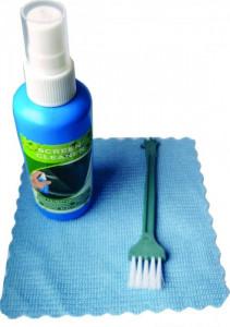 Set za čišćenje monitora Gembird CK-LCD-005, Cleaning set 3 in 1, fluid 100ml + brush + towel