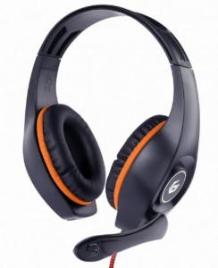 Slušalice s mikrofonom GEMBIRD GHS-05-O, konektor 1 x 3,5mm