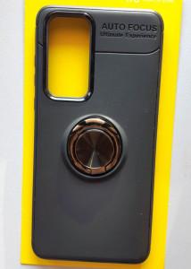 """TPU Magnet RING maska za Huawei P40 2020 (6.1"""") crna"""