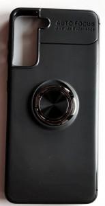 "TPU Magnet RING maska za SAMSUNG SM-G991F, Galaxy S21 2021 (6.2"") crna"