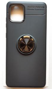 "TPU Magnet RING maska za Samsung SM-N770F, Galaxy Note 10 Lite 2020, A81 (6.7"") crna"