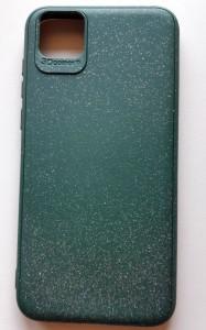 """TPU maska SKIN GLITTER za Huawei Y5p 2020, Honor 9S 2020 (5.45"""") tamno zelena"""
