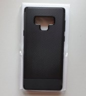 TPU/PC CARBON maska za SM-N960F Galaxy Note 9 2018, crna