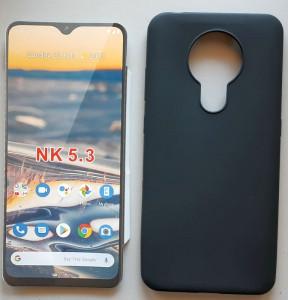 "TPU Pudding maska za Nokia 5.3 2020 (6.55"") Crna"