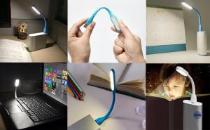 USB LED lampa za laptop Gembird NL-01-W, bela boja