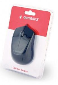 USB Opticki miš Gembird MUS-3B-02, 1000Dpi 3-button black/space USB