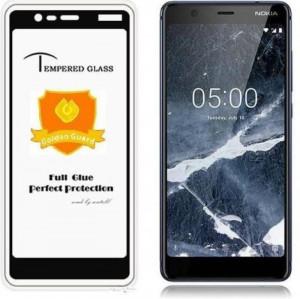 "Zaštitno, kaljeno staklo 5D Full Glue za Nokia 5.1 2018 (5.5"") ZAKRIVLJENO"