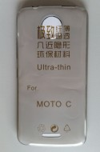 TPU maska za Motorola Moto C  dim providna ultra tanka