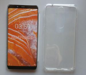 """TPU 0.3mm ultra tanka maska za Nokia 3.1 Plus 2018, Nokia X3 (6.0"""") providna"""