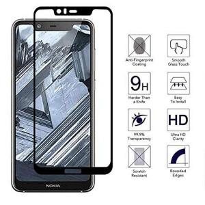 "Zaštitno staklo za Nokia 5.1 Plus 2018, Nokia X5 2018 (5.86"") Glass 5D FULL GLUE, ZAKRIVLJENO crni rubovi"