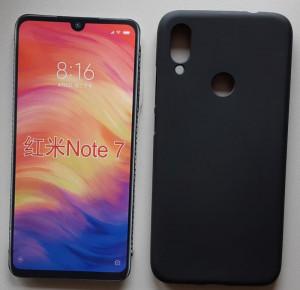 """TPU maska PUDDING Xiaomi REDMI Note 7, Note 7 Pro 2019 (6.3""""), crna"""