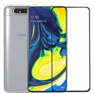 "Zaštitno staklo Tempered Glass za Samsung SM-A805F Galaxy A80 2019 (6.7"") 5D full glue, zakrivljeno crni rub"