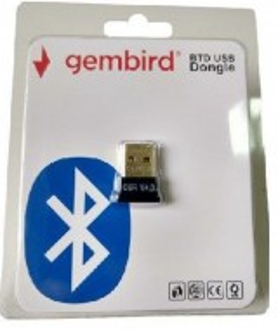 Bluetooth dongle Gembird BTD-MINI2 USB2.0 Bluetooth dongle v2.0 + EDR, 2.4Ghz 2.1MB/s(17Mbps) 8dBm, 50m