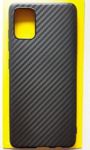 """TPU CARBON 0,3mm maska za Samsung SM-A515F, Galaxy A51 2020 (6.5"""") crna"""
