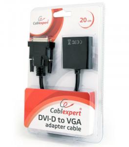 Adapter DVI-D Dual Link na VGA ženski Gembird AB-DVID-VGAF-0