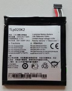 Baterija TLp020K2 za Alcatel Idol 3 4.7 inč, OT-6039Y, OT-6039K, OT-6039H