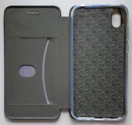 "Futrola preklopna LEATHER za Huawei Y5 2019, Honor 8S, AMN-LX9 (5.71"") crna"